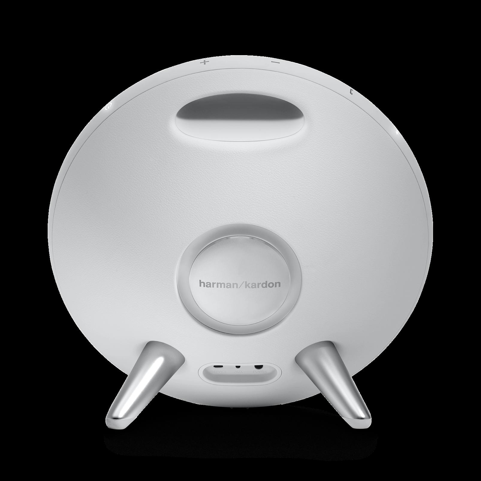 Onyx Studio 3 - White - Portable Bluetooth Speaker - Back