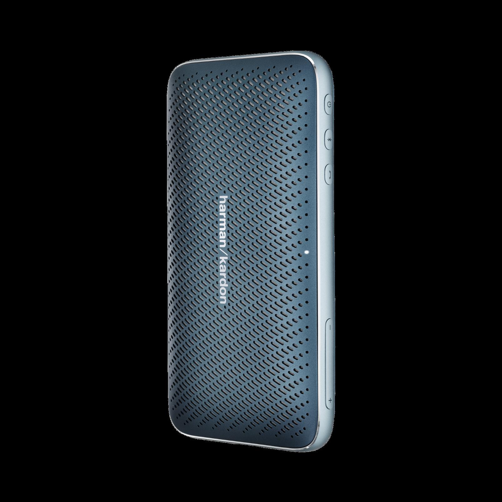 Harman Kardon Esquire Mini 2 - Blue - Ultra-slim and portable premium Bluetooth Speaker - Detailshot 2