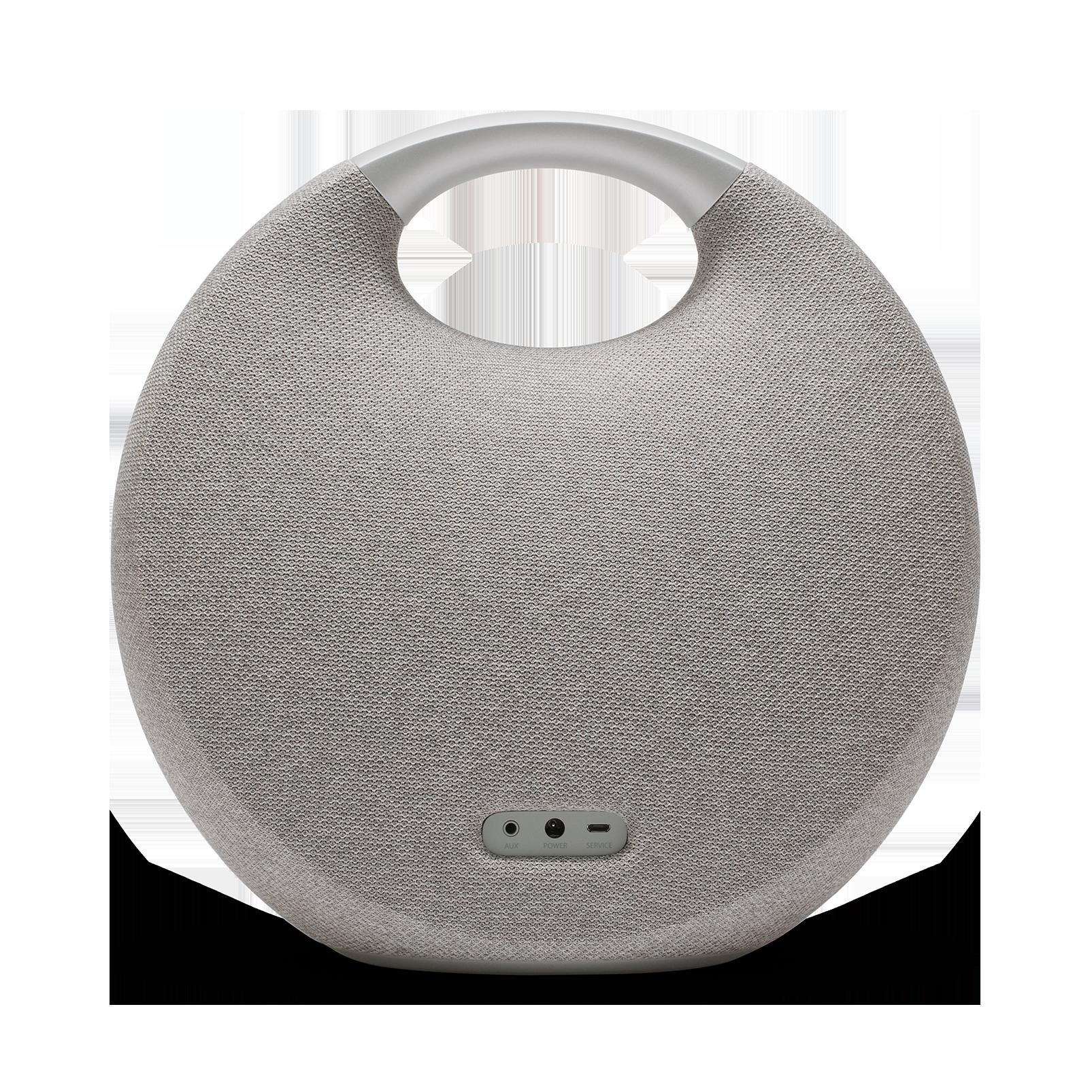 Onyx Studio 5 - Grey - Portable Bluetooth Speaker - Back