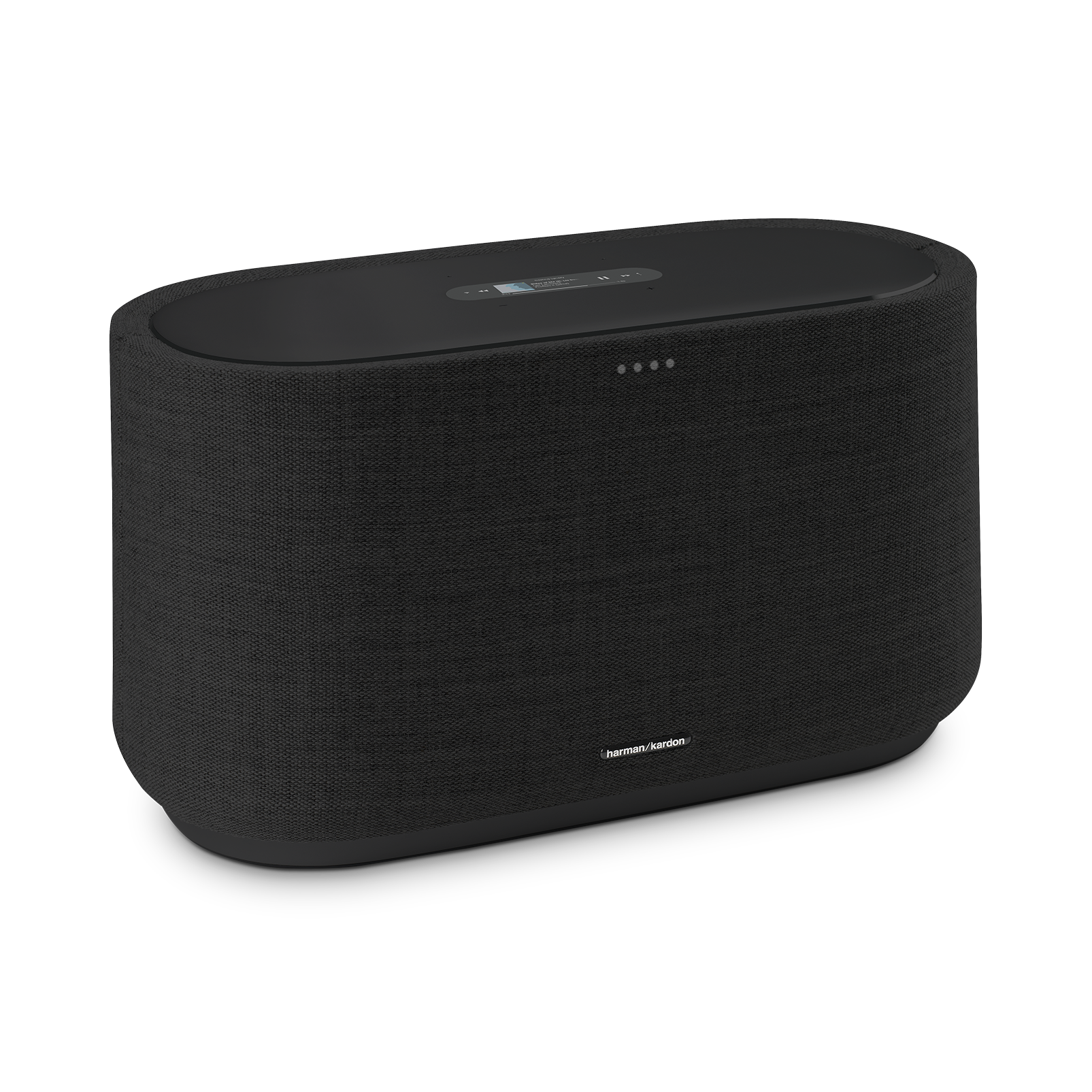 Harman Kardon Citation 500 - Black - Large Tabletop Smart Home Loudspeaker System - Hero